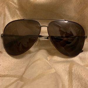 Salvatore Ferragamo Men's Aviator Sunglasses
